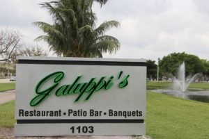 Galuppis sign out front